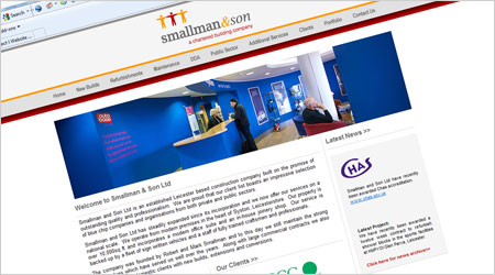 The Smallman and Son Ltd Website